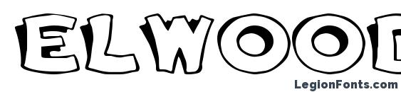 Elwood Bold Font