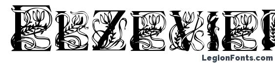 Elzevier r Font