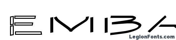 шрифт Embargo2, бесплатный шрифт Embargo2, предварительный просмотр шрифта Embargo2