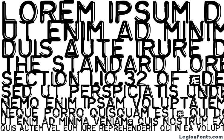 specimens Embossing Tape 3 BRK font, sample Embossing Tape 3 BRK font, an example of writing Embossing Tape 3 BRK font, review Embossing Tape 3 BRK font, preview Embossing Tape 3 BRK font, Embossing Tape 3 BRK font