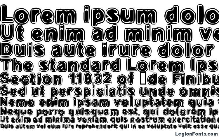 specimens Embryonic inside font, sample Embryonic inside font, an example of writing Embryonic inside font, review Embryonic inside font, preview Embryonic inside font, Embryonic inside font