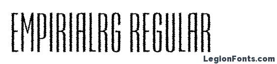Empirialrg regular Font