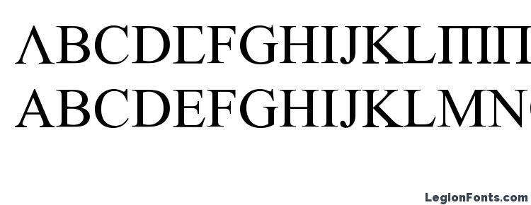Glyphs Empiric Roman Font Haracters Symbols Character