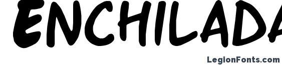 Enchilada font, free Enchilada font, preview Enchilada font