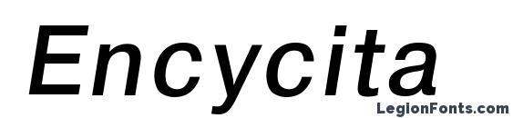 Encycita Font
