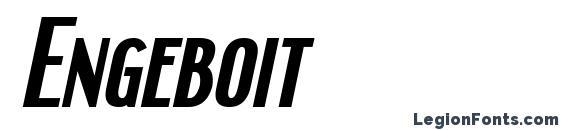 Engeboit Font