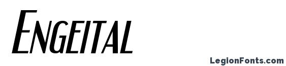 Engeital Font