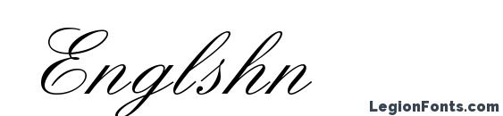Englshn font, free Englshn font, preview Englshn font