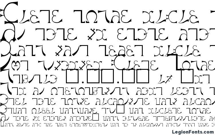 образцы шрифта Enochian Regular, образец шрифта Enochian Regular, пример написания шрифта Enochian Regular, просмотр шрифта Enochian Regular, предосмотр шрифта Enochian Regular, шрифт Enochian Regular