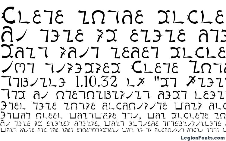 specimens Enochianwriting font, sample Enochianwriting font, an example of writing Enochianwriting font, review Enochianwriting font, preview Enochianwriting font, Enochianwriting font