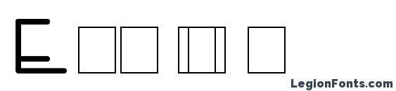 Enviro Font