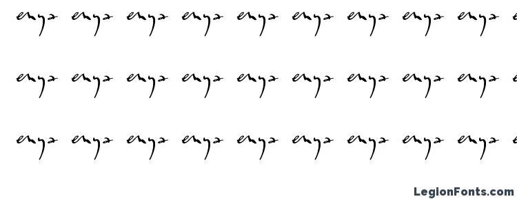 glyphs Enyalogo font, сharacters Enyalogo font, symbols Enyalogo font, character map Enyalogo font, preview Enyalogo font, abc Enyalogo font, Enyalogo font