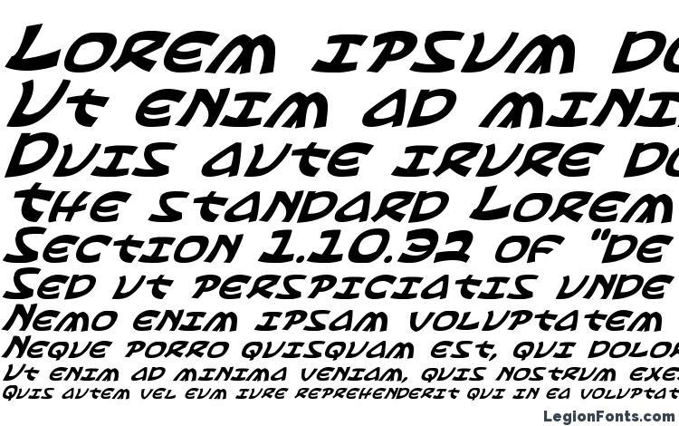 specimens Ephesian Italic font, sample Ephesian Italic font, an example of writing Ephesian Italic font, review Ephesian Italic font, preview Ephesian Italic font, Ephesian Italic font