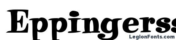 Eppingerssk bold font, free Eppingerssk bold font, preview Eppingerssk bold font