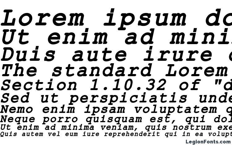 specimens ER Kurier 1251 Bold Italic font, sample ER Kurier 1251 Bold Italic font, an example of writing ER Kurier 1251 Bold Italic font, review ER Kurier 1251 Bold Italic font, preview ER Kurier 1251 Bold Italic font, ER Kurier 1251 Bold Italic font