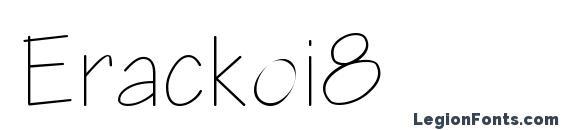 Erackoi8 Font