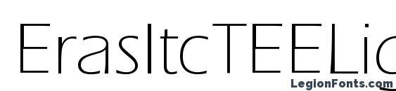 шрифт ErasItcTEELig, бесплатный шрифт ErasItcTEELig, предварительный просмотр шрифта ErasItcTEELig