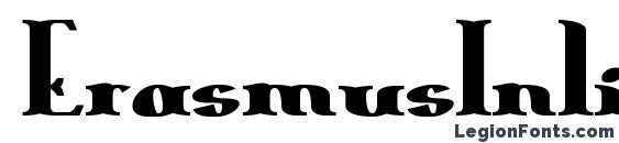 ErasmusInline Bold Font