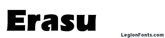 Шрифт Erasu