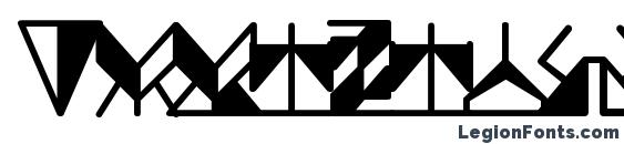 Шрифт Ergonomix