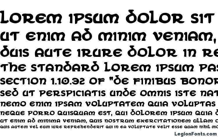 specimens Erin Go Bragh Bold font, sample Erin Go Bragh Bold font, an example of writing Erin Go Bragh Bold font, review Erin Go Bragh Bold font, preview Erin Go Bragh Bold font, Erin Go Bragh Bold font