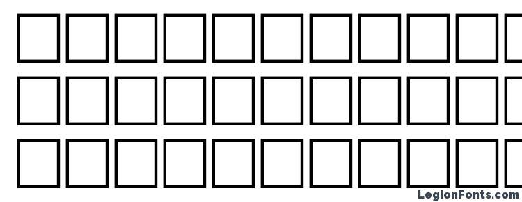 глифы шрифта Ermine regular, символы шрифта Ermine regular, символьная карта шрифта Ermine regular, предварительный просмотр шрифта Ermine regular, алфавит шрифта Ermine regular, шрифт Ermine regular