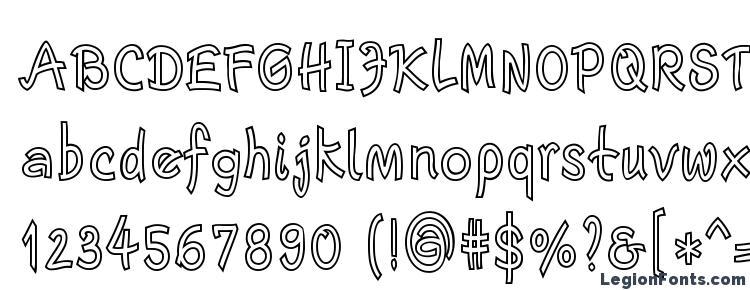 glyphs Escript LT Bold Narrow Outline font, сharacters Escript LT Bold Narrow Outline font, symbols Escript LT Bold Narrow Outline font, character map Escript LT Bold Narrow Outline font, preview Escript LT Bold Narrow Outline font, abc Escript LT Bold Narrow Outline font, Escript LT Bold Narrow Outline font