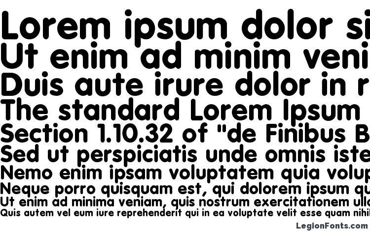 specimens Esf rounded bold font, sample Esf rounded bold font, an example of writing Esf rounded bold font, review Esf rounded bold font, preview Esf rounded bold font, Esf rounded bold font