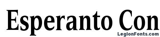 Esperanto Cond Bold Font