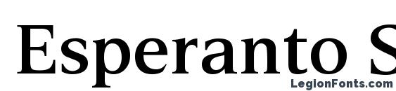 Esperanto SemiBold Font
