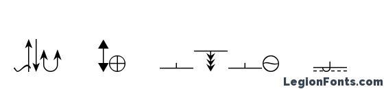 Шрифт ESRI Geology