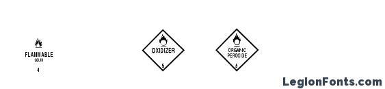 ESRI Hydrants Font