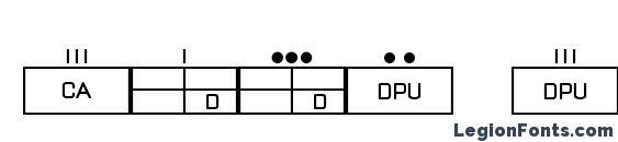 ESRI MilSym 04 Font, Icons Fonts
