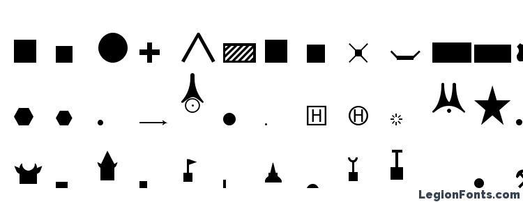 глифы шрифта ESRI NIMA VMAP1&2 PT, символы шрифта ESRI NIMA VMAP1&2 PT, символьная карта шрифта ESRI NIMA VMAP1&2 PT, предварительный просмотр шрифта ESRI NIMA VMAP1&2 PT, алфавит шрифта ESRI NIMA VMAP1&2 PT, шрифт ESRI NIMA VMAP1&2 PT