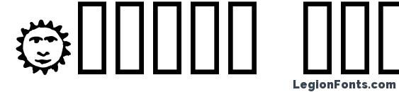 Essene dingbats Font, Icons Fonts