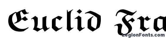 Шрифт Euclid Fraktur Bold