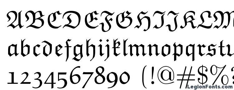 Euclid Fraktur Font Download Free / LegionFonts