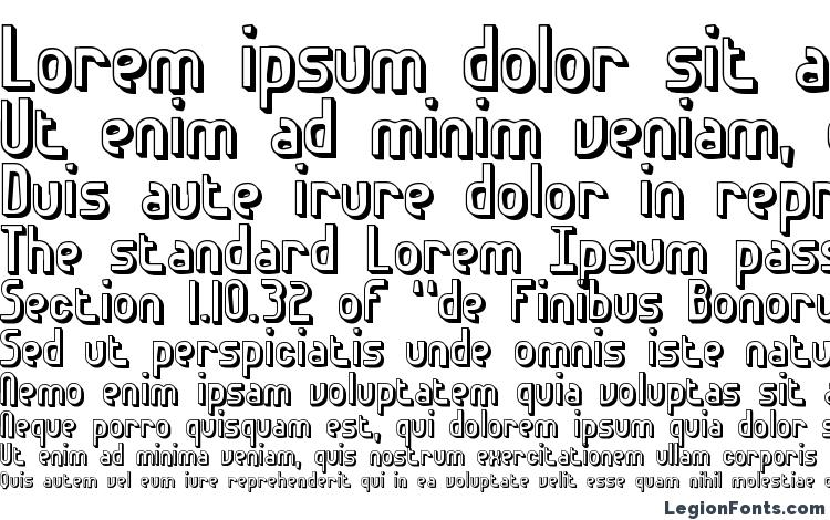 specimens Euphoric 3D BRK font, sample Euphoric 3D BRK font, an example of writing Euphoric 3D BRK font, review Euphoric 3D BRK font, preview Euphoric 3D BRK font, Euphoric 3D BRK font