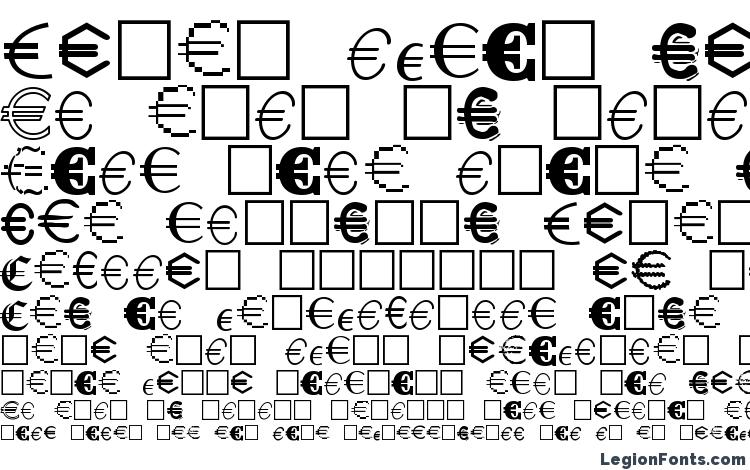 specimens Euro Collection font, sample Euro Collection font, an example of writing Euro Collection font, review Euro Collection font, preview Euro Collection font, Euro Collection font