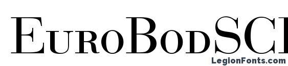 EuroBodSCDReg Font
