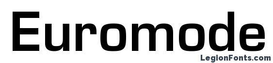Euromode Bold Font