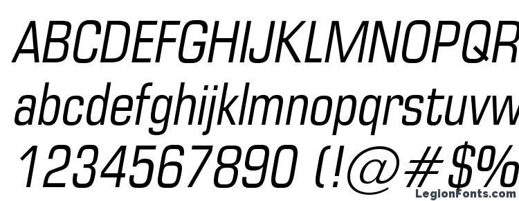 глифы шрифта EuropeCond Italic, символы шрифта EuropeCond Italic, символьная карта шрифта EuropeCond Italic, предварительный просмотр шрифта EuropeCond Italic, алфавит шрифта EuropeCond Italic, шрифт EuropeCond Italic