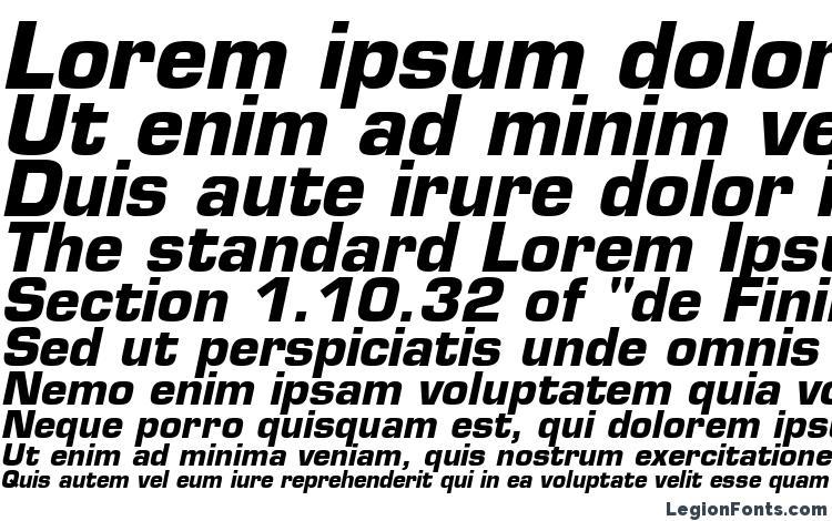 eurostile bold oblique font free download