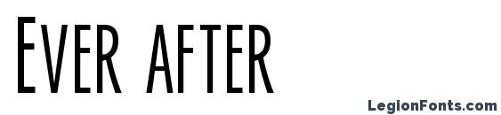 Ever after Font