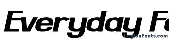 шрифт Everyday Formula Sway, бесплатный шрифт Everyday Formula Sway, предварительный просмотр шрифта Everyday Formula Sway