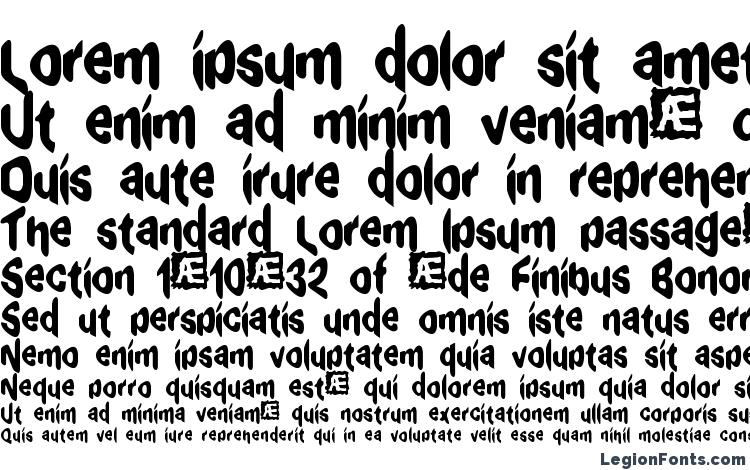 specimens Exaggerate BRK font, sample Exaggerate BRK font, an example of writing Exaggerate BRK font, review Exaggerate BRK font, preview Exaggerate BRK font, Exaggerate BRK font
