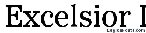 Excelsior Insertio LT Font