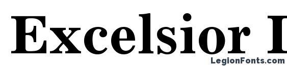 Excelsior LT Bold Font