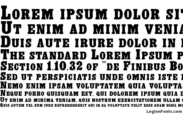 specimens Exclaim Regular font, sample Exclaim Regular font, an example of writing Exclaim Regular font, review Exclaim Regular font, preview Exclaim Regular font, Exclaim Regular font