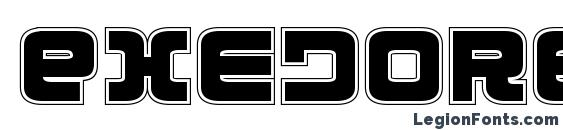 Exedore College Font